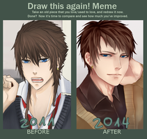 Before and After Meme 2 by michitan