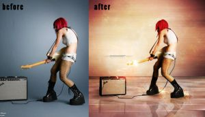 before-after passion for music II by johngiannis27