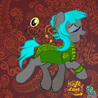 Chinese pony adoptable SOLD by Lost-in-Equestria