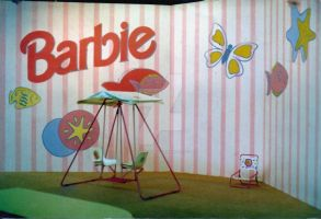 Thematic painting in a baby showroom by christiano2211