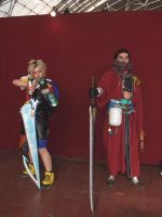 Tidus and Auron - FFX by SuperCosplay