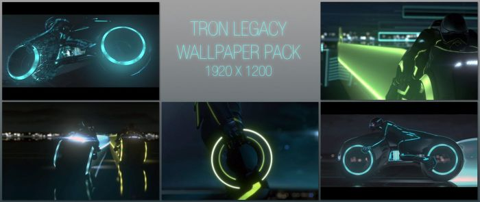 TRON LEGACY: HD Wallpaper Pack by hellishknight