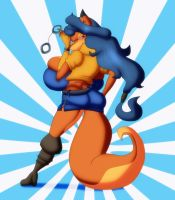 Carmelita Fox by ChaosSabre