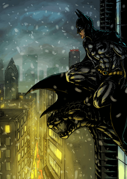Batman gif page 1 by Night-of-Void