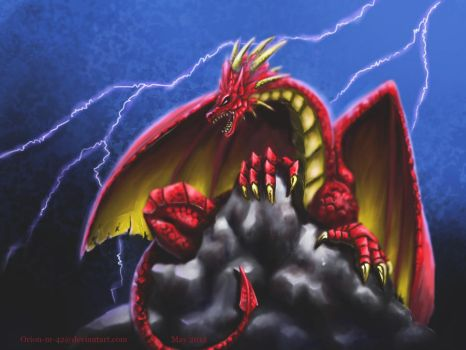red dragon by Orion-M-42