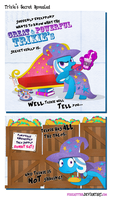 Trixie's Secret Revealed by PixelKitties