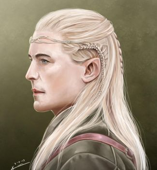 Legolas Greenleaf by kazu-ren