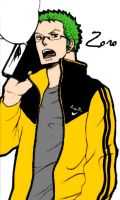 Zoro School by LadyNoa