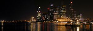 Singapore Sleeps by garceth