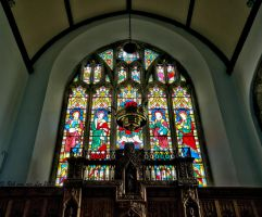 Stained glass by forgottenson1