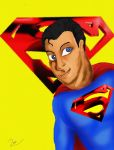 Superman by Rene-L