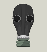 Gas Mask - Box Ghost by Miserable-in-Orange