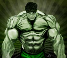 002-Wacom-Incredible Hulk by matrix7