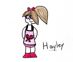 Random Person- Hayley by mudkippi
