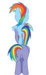 Rainbow and Rainbow jnr by Really-unimportant