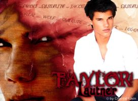 Taylor Lautner Wallpaper by o0LeahClearwater0o