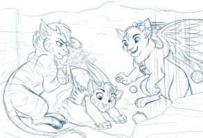 Day Off - Prize WIP by kohu-scribbles