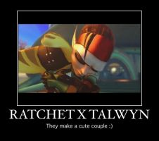 Ratchet and tal make a cute couple by lombaxlover123
