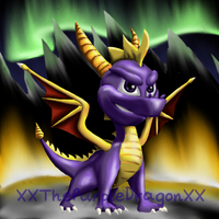 Spyro - In The Mountains by XXThePurpleDragonXX
