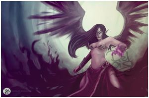 Morgana League of Legend by juliodelrio