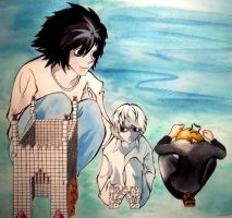 Death Note: Just Like You by theclockworker