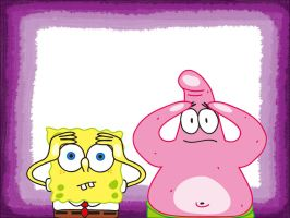 Spongebob + Patrick wallpaper by LazyAsHell