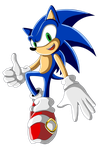 Sonic the Hedgehog by ChaosSummers