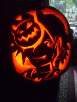 Sora Halloween Pumkin by yuffb