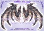 COM: Wing Tattoo Design by carnival