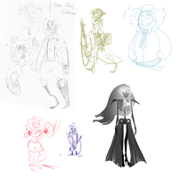 Sketchdump 22/05/15 by SgtSteffi