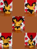 pichu by PlushPrincess