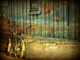 A Bike in the Country by SHParsons
