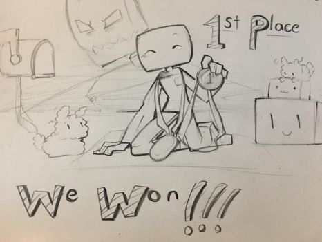WE WON FIRST PLACE IN A NATIONAL COMPETITION!!! by BunnyChan21