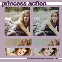 Princess Action by justremembertosmile