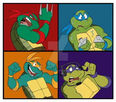 Turtles Squared. by Sibsy