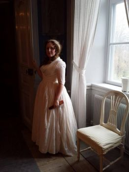 1790's dress by LadyCafElfenlake
