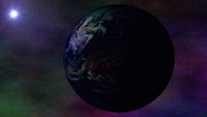 Earth art with the new earth pic from nasa by TheElias