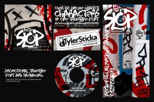 HIP SLOP Graffiti Type+Package by tylersticka