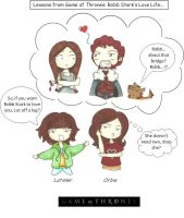 Lessons from GoTs: Robb Starks Love Life by mlatimerridley