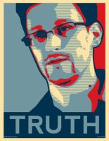 Edward Snowden [TRUTH] Poster by error-23