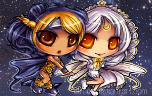 Space Twins by Ciroen