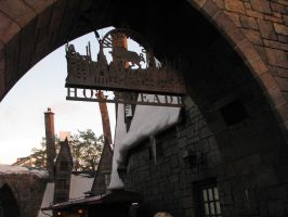 Welcome to Hogsmeade by fangirlasylum