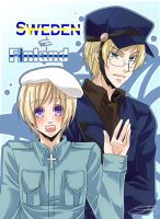 APH - Sweden and Finland by Hetalia-Canada-DJ