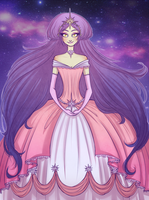Cosmic Princess by Allybooarts