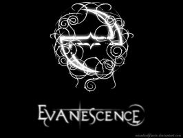 Evanescence Wallpaper by MissDarkFaerie