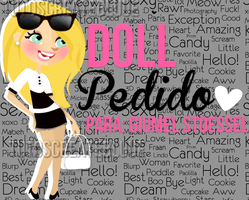 #3 Doll (pedido Giumel-Stoessel ) by TutosCreateBluue