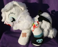 Custom My Little Pony Plush Pestilence by eponyart
