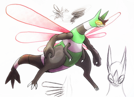 Mega Flygon-Y by Yogurtleague