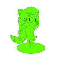 Meet Foxie the slime fox by TheMrLfan