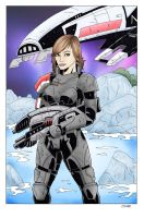 MHA FemShep by SteelhavenStudio